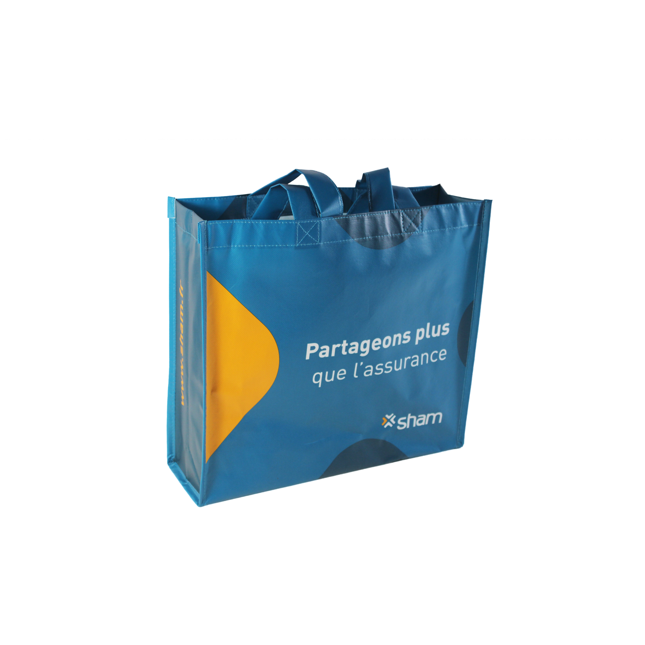 Laminated Shopping Tote