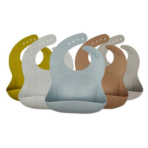 Silicone Feeding Pocket Bibs